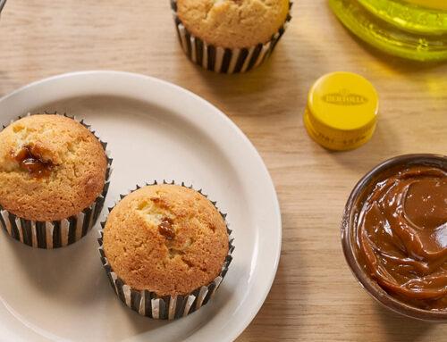Muffins met 'Dulce De Leche'